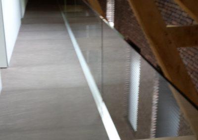Glazen balustrade 2