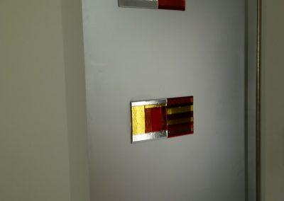 glasapplique op deur