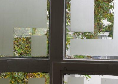 kunst toepassing gebogen gestraald glas Chabot Museum Rotterdam